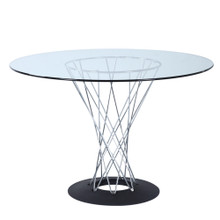 Eastern Dining Table, Clear, Glass 13330