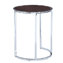 Chin Side Table, Brown, Wood 13331