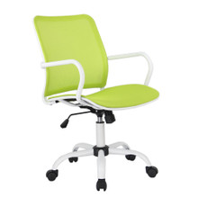 Spare Office Chair, Green, Fabric 13346