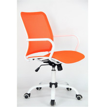 Spare Office Chair, Orange, Fabric 13347