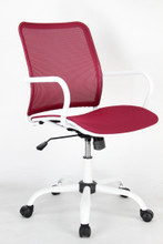 Spare Office Chair, Red, Fabric 13348