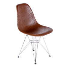 Vincent Dining Chair, Brown, Faux Leather 13351