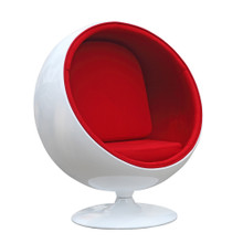 Kids Space Chair, Red, Fabric 13369