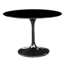 "Flower Table 42"", Black, Plastic 13389"