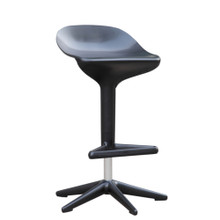 Different Bar Stool Chair, Black, Plastic 13392
