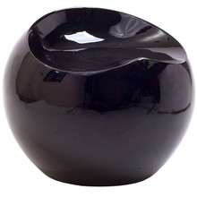 Plop Stool in Black