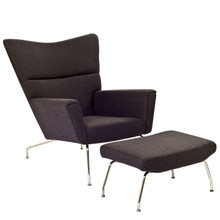 Class Lounge Chair in Dark Gray