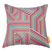 Modway Outdoor Patio Single Pillow, Fabric, Multi Colorful 13491