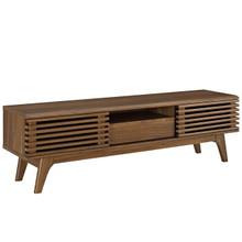 """Render 59"""" TV Stand, Wood, Brown 13576"""