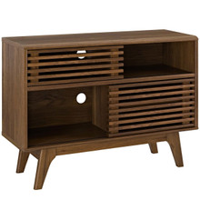 Render Display TV Stand, Wood, Brown 13577