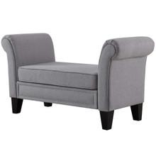 Rendezvous Bench, Fabric, Light Grey Gray 13587