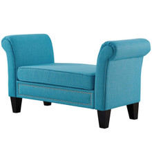 Rendezvous Bench, Fabric, Blue 13588