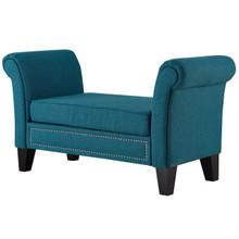 Rendezvous Bench, Fabric, Aqua Blue 13589