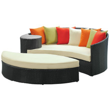 Taiji Daybed in Espresso Multicolor