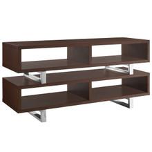 """Amble 47"""" TV Stand, Wood Metal Steel, Brown 13629"""
