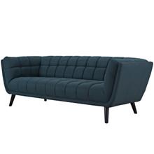 Bestow Upholstered Fabric Sofa, Fabric, Blue 13638