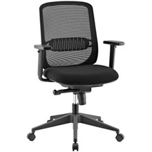 Acclaim Mesh Office Chair, Fabric, Black 13791