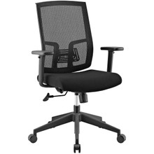 Progress Mesh Office Chair, Fabric, Black 13792