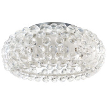"Halo 19"" Acrylic Ceiling Fixture, Plastic, Clear 13860"