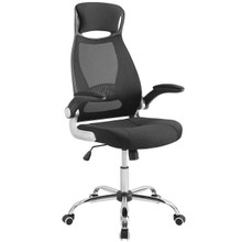 Expedite Highback Office Chair, Fabric, Black 14062