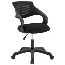 Thrive Mesh Office Chair, Fabric, Black 14068