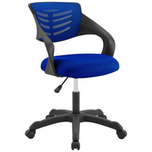 Thrive Mesh Office Chair, Fabric, Blue 14069