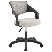 Thrive Mesh Office Chair, Fabric, Grey Gray 14070