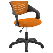 Thrive Mesh Office Chair, Fabric, Orange 14071