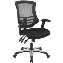 Calibrate Mesh Office Chair, Fabric, Black 14073