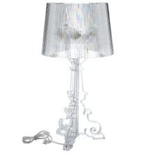 French Table Lamp in Clear