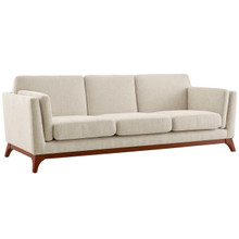 Chance Upholstered Fabric Sofa, Fabric, Beige 14114