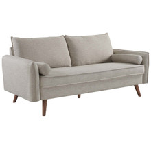 Revive Upholstered Fabric Sofa, Fabric, Beige 14162