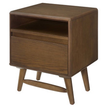 Talwyn Wood Nightstand, Wood, Brown 15102
