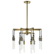 Resolve Antique Brass Ceiling Light Pendant Chandelier, Metal Steel, Gold 15238