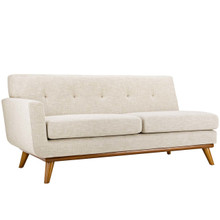Engage Left-Arm Loveseat, Fabric, Beige 15269