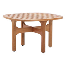 Saratoga Outdoor Patio Teak Coffee Table, Wood, Natural 15285