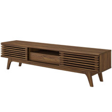 "Render 70"" TV Stand, Wood, Natural Brown 15379"