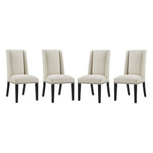 Baron Dining Chair Fabric Set of 4, Fabric, Beige 15839