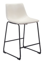 Smart Counter Chair Distressed White, 16166