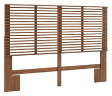 Linea Headboard Queen Walnut, 16175