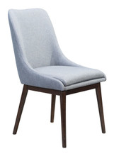 Ashmore Dining Chair Charcoal Gray, 16229