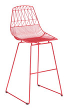 Brody Bar Chair Red, 16245