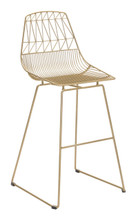 Brody Bar Chair Gold, 16246