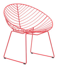 Hyde Outdoor Lounge Chair Red, 16248