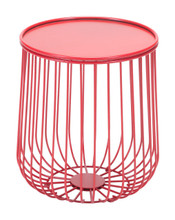 Gilbert Side Table Red, 16251