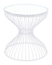 Rose Side Table White, 16253
