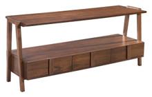 Graham Media Console Table Walnut, 16264