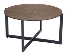 Hastings Coffee Table Rust & Matt Black, 16269