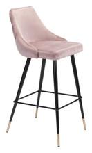 Piccolo Bar Chair Pink Velvet, 16292