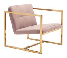 Alt Arm Chair Pink Velvet, 16302
